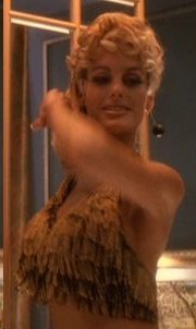 Pamela DeMarche as the Bond GO-GO Dancer in Star Trek Episode